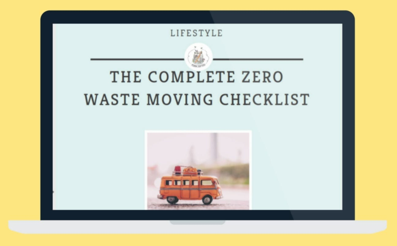 Are you looking for a Complete Zero Waste Moving Checklist?