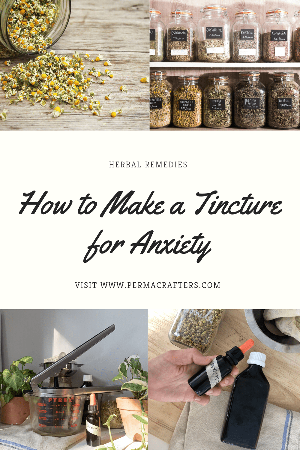 How to Make a Tincture for Anxiety